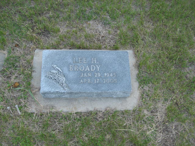 Lee H. Broady Grave Photo