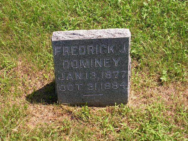 Frederich J.  Dominey Grave Photo