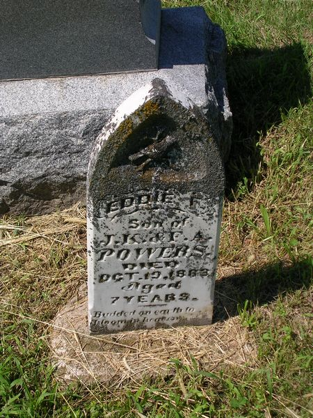 Eddie F. Powers Grave Photo